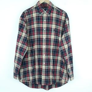 Ralph Lauren Blake button down shirt Sz L plaid